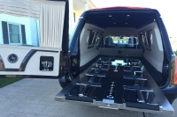 2016 Armbruster Stageway Crown Landaulet Hearse Rear Interior 5