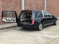 2019 Black Armbruster Stageway Crown Landaulet Funeral Coach 5