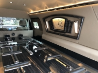 2019 Black Armbruster Stageway Crown Landaulet Funeral Coach 8