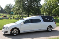 2016 Cotillion White Landaulet Black Top - New Hearse For Sale 6