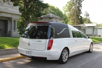 2016 Cotillion White Landaulet Black Top - New Hearse For Sale 8