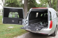 Radiant Silver Crown Landaulet - New Hearse For Sale - 4