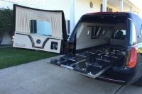 2016 Armbruster Stageway Crown Landaulet Hearse Rear Interior 1