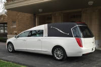 2016 Cotillion White Landaulet Black Top - New Hearse For Sale 2