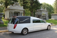 2016 Cotillion White Landaulet Black Top - New Hearse For Sale 7