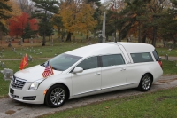 2016 Armbruster Stageway Crown Regal White Diamond New Hearse For Sale 8