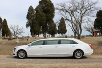 2018 White Armruster Stageway Six Door Limousine 1