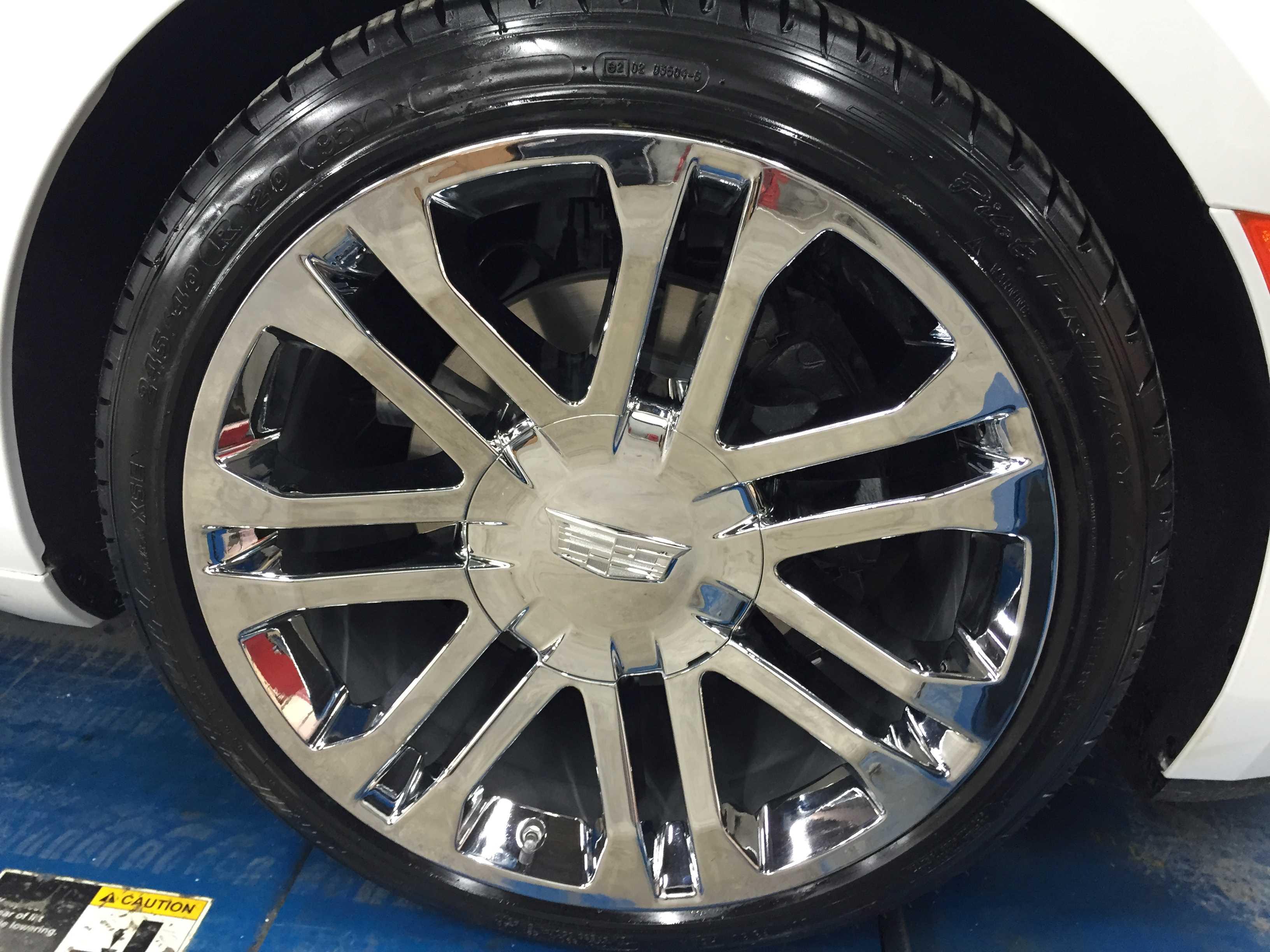 20 inch Chrome Wheels Option 2 - Custom Hearse