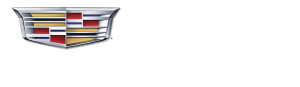 Cadillac Master Coach Builder - Funeral Coaches and Limousines - White Lettering Clear Background