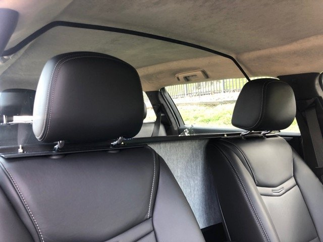 Limousine Partition - Limos For Sale - View From Front Seat