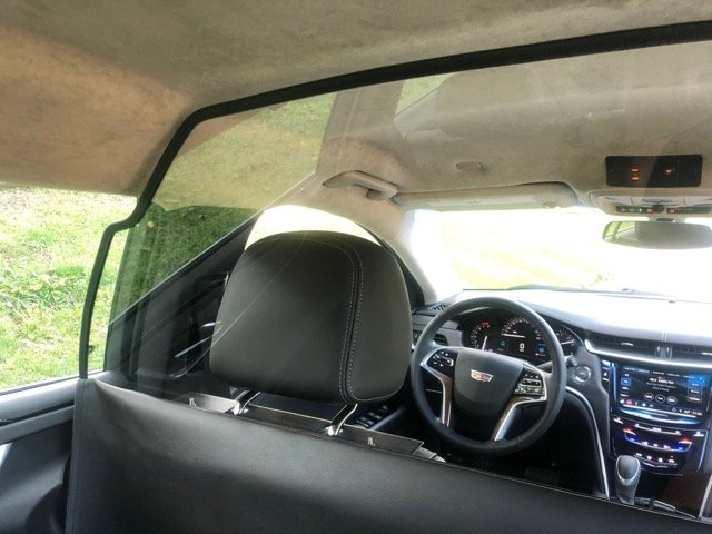 Limousine Partition - Limos For Sale - View of Driver's Seat